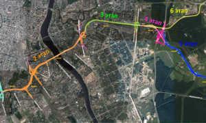 Восточный скоростной диаметр в СПб